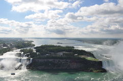 Automne de Niagara Photo stock