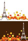 Automne de Paris Photos libres de droits