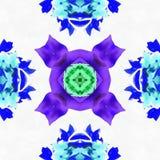 Automne de sphère de kaléidoscope de batik Image libre de droits