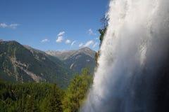 Automne de Stuiben dans Otztal Photos stock