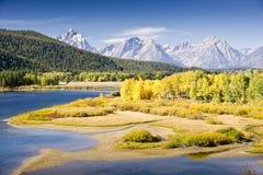 Automne de Teton photographie stock libre de droits