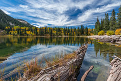 Automne du Colorado photo stock