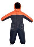 Automne du snowsuit des enfants Photographie stock