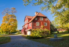 Automne en Suède Photo stock
