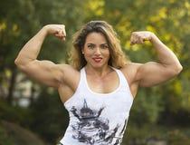 Automne et beauté féminine dans le Central Park Photo stock