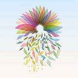 Automne-fleurissant Photo libre de droits