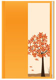 Automne orange Book_eps Illustration Stock