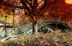 automne paris Arkivbilder