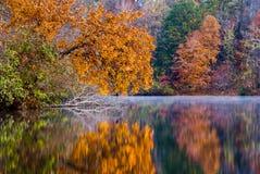 Automne sur le lac Photos libres de droits