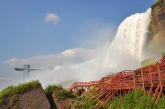 Automnes américains de Niagara Falls Photo stock