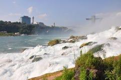 Automnes américains de Niagara Falls Photos libres de droits