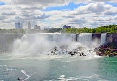 Automnes américains, Niagara Photos stock