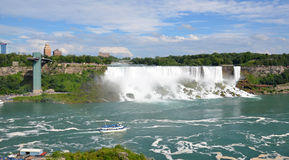 Automnes américains, chutes du Niagara Images libres de droits