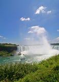 Automnes canadiens Niagara Falls de fer à cheval Image stock