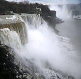 Automnes d'Américain - Niagara Image libre de droits