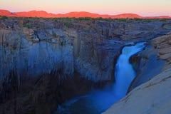 Automnes d'Augrabies, Afrique du Sud photographie stock libre de droits