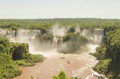 Automnes d'Iguaçu Photos libres de droits