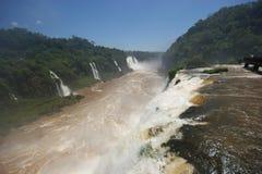 Automnes d'Iguacu Images stock