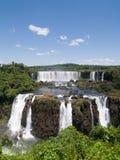 Automnes d'Iguassu, Brésil. photographie stock