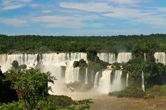 Automnes d'Iguassu, Brésil image libre de droits