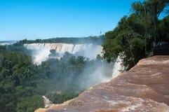 Automnes d'Iguazzu. l'Amérique du Sud Photos libres de droits