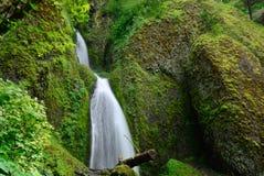 automnes de Deux-cascade Image stock