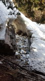 Automnes de FallsRainbow d'arc-en-ciel photos libres de droits