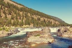 Automnes de Kootenai Photographie stock libre de droits