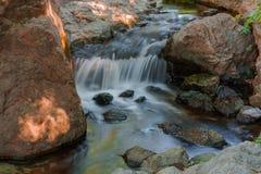 Automnes de l'eau Photographie stock libre de droits