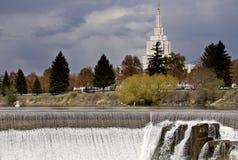 Automnes de l'Idaho Photographie stock