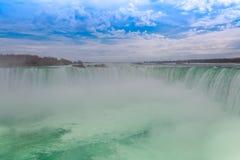 Automnes en fer à cheval, chutes du Niagara, Niagara Images libres de droits