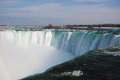Automnes en fer à cheval de Niagara Falls Photos stock
