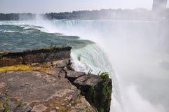 Automnes en fer à cheval de Niagara Falls Images libres de droits