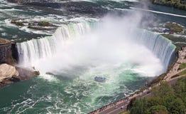 Automnes en fer à cheval, Niagara, Etats-Unis Images libres de droits