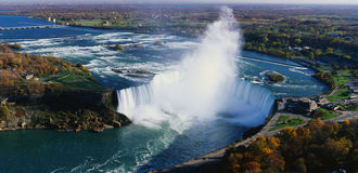Automnes en fer à cheval, Niagara Falls Image stock