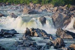 Automnes grands sur le fleuve Potomac En Virginie Etats-Unis Photos libres de droits