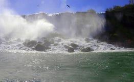 Automnes Niagara New York Image libre de droits
