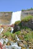 Automnes nuptiales de voile de Niagara Falls Photo stock