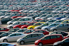 Automobiel Co. van Mazda van de Doorwaadbare plaats van Changan, Ltd een doorgang Royalty-vrije Stock Foto's