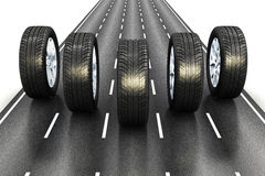 Automobiel concept vector illustratie