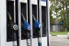 Automobiel gas TNK Stock Afbeeldingen