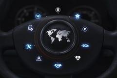 Automobiel gebruikersconcept vector illustratie