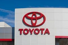 Automobiel het Handel drijventeken van Toyota Stock Afbeeldingen