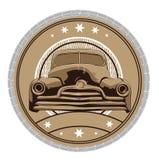Automobiel kader stock illustratie