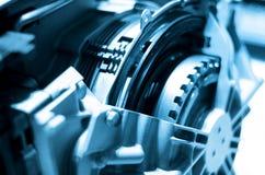 Automobiel motor stock afbeeldingen