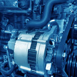 Automobiel motor Stock Foto