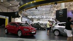 Automobiel-show stock videobeelden