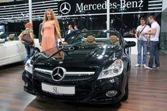 Automobiel-show Stock Foto's