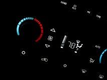 Automobiele airconditioner Stock Afbeeldingen