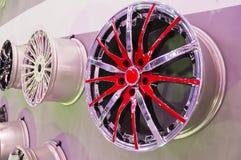 Automobiele hub Stock Foto's